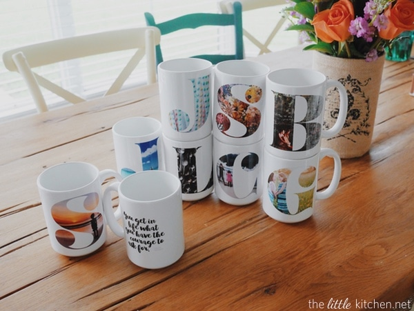 Shutterfly Mug Giveaway from thelittlekitchen.net