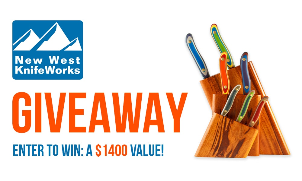 New West Knifeworks Giveaway thelittlekitchen.net