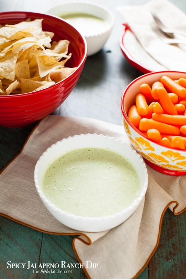 Spicy Jalapeno Ranch Dip Recipe