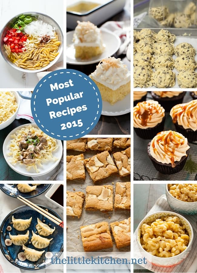 Most Popular Recipes of 2015 thelittlekitchen.net