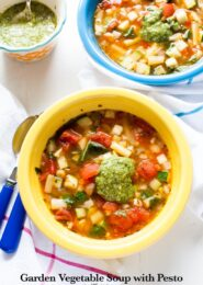 Panera Vegetable Soup from thelittlekitchen.net