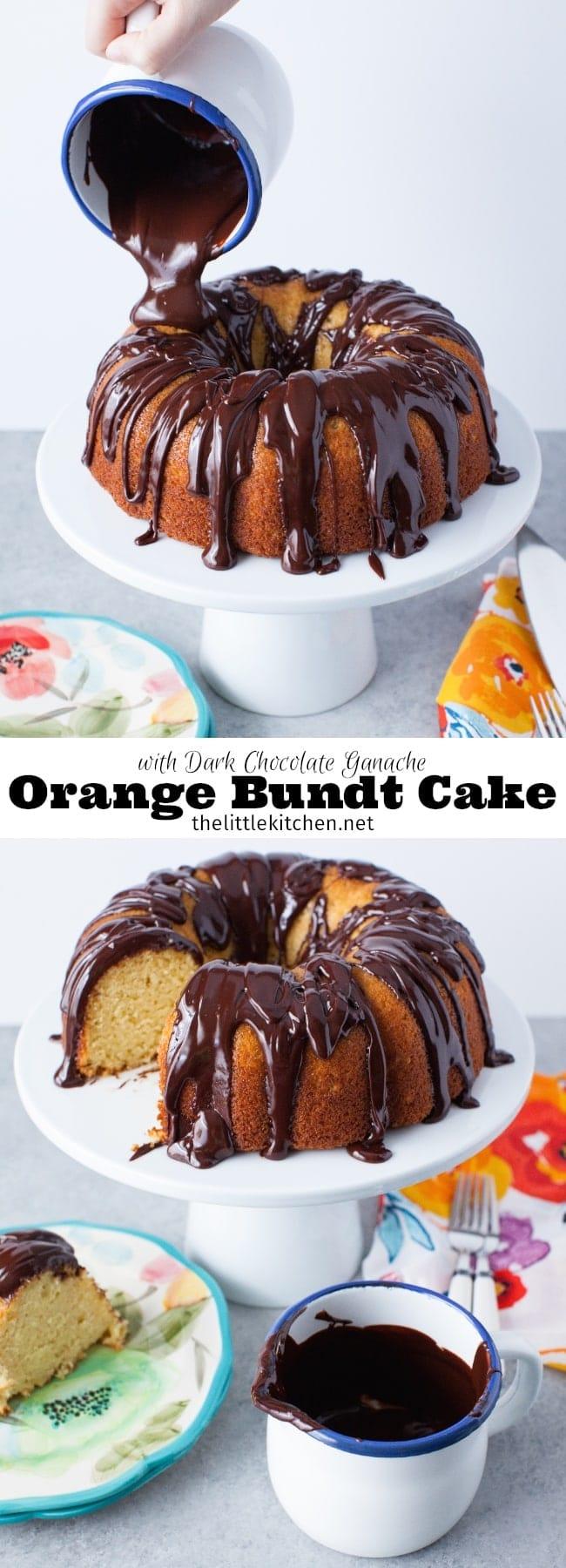 Orange And Dark Chocolate Cake - Chocolate