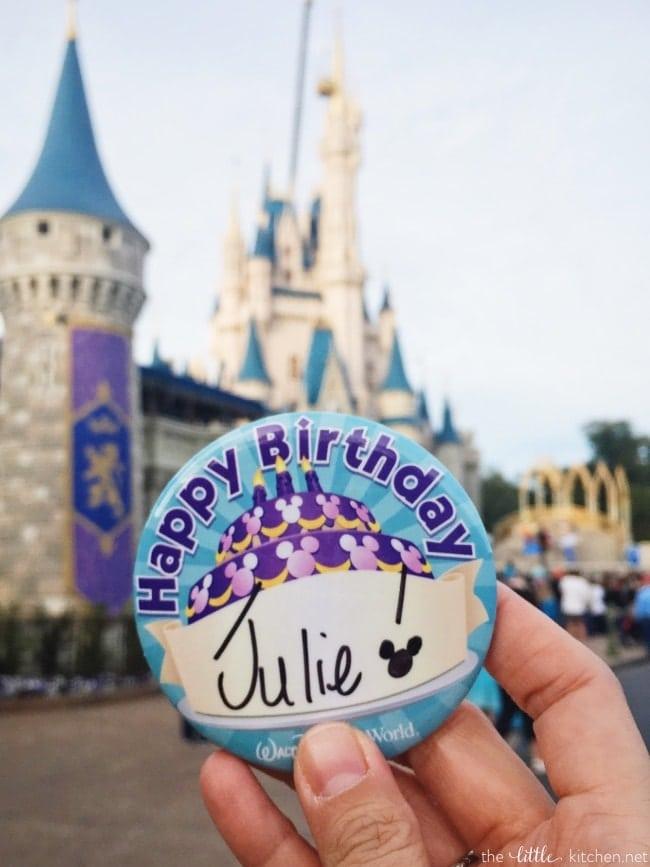Birthday at Walt Disney World! thelittlekitchen.net