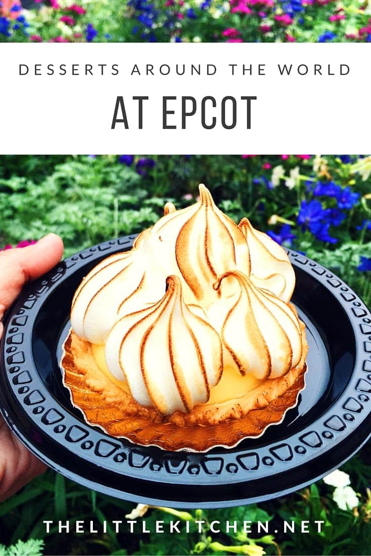 Desserts around the world at EPCOT thelittlekitchen.net