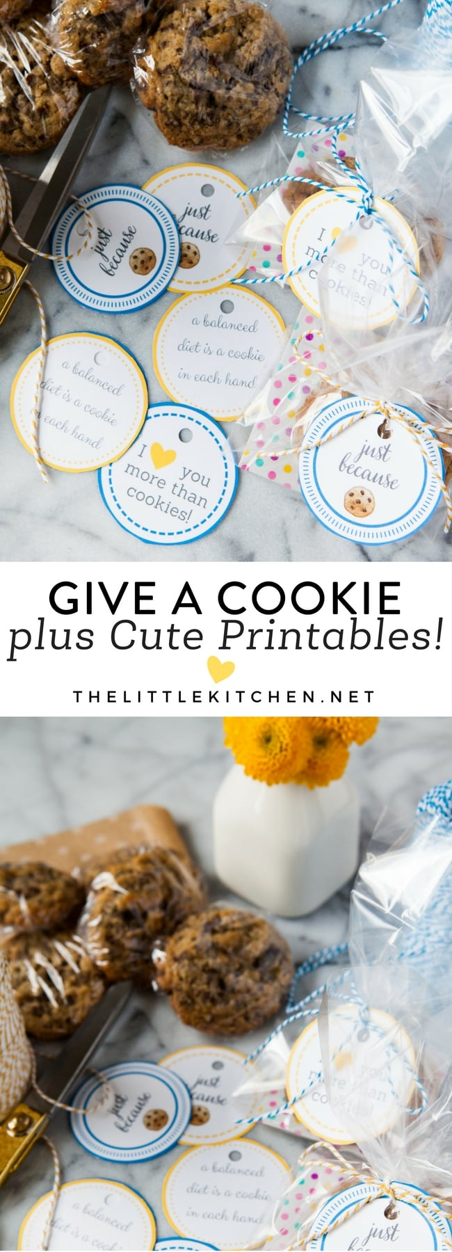 Give a Cookie from thelittlekitchen.net