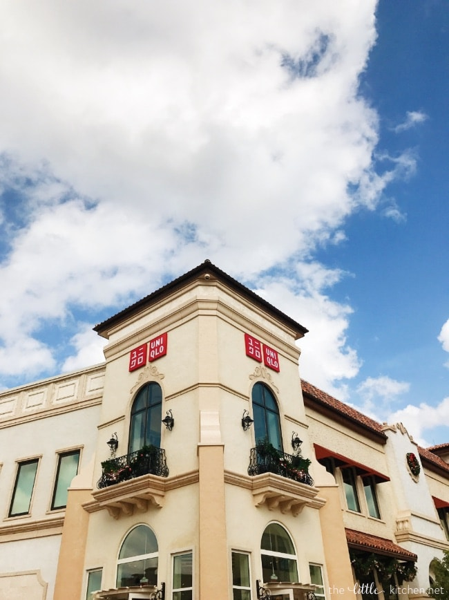 UNIQLO at Disney Springs thelittlekitchen.net