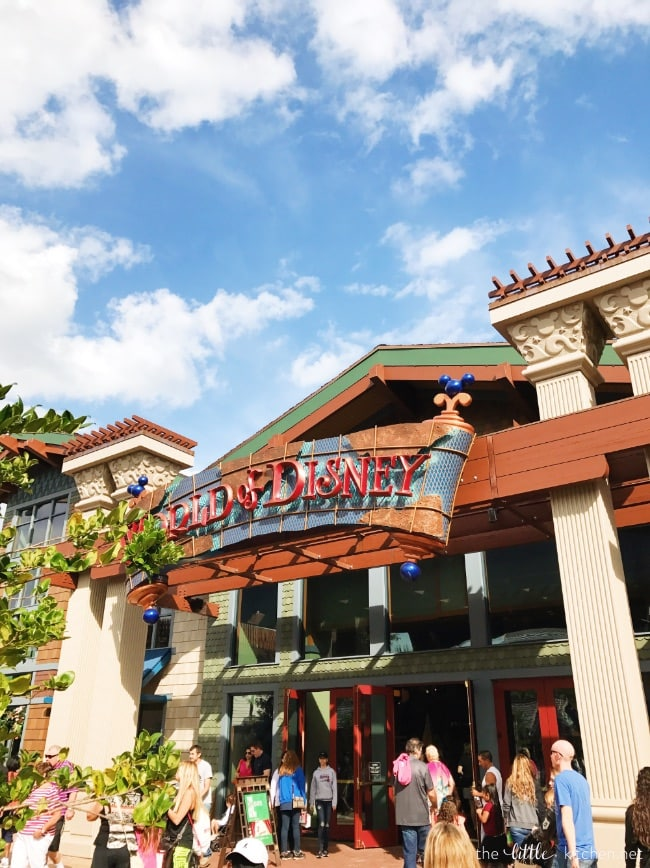 World of Disney store at Disney Springs thelittlekitchen.net