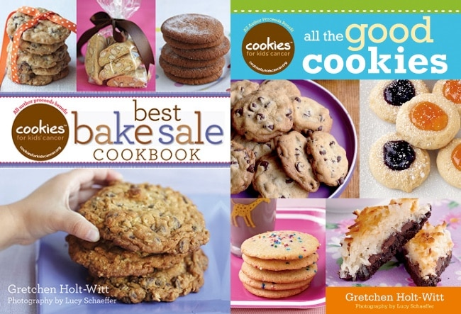 Cookies for Kids' Cancer Cookbooks