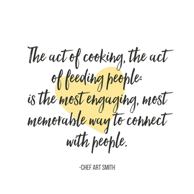 Quote from Chef Art Smith