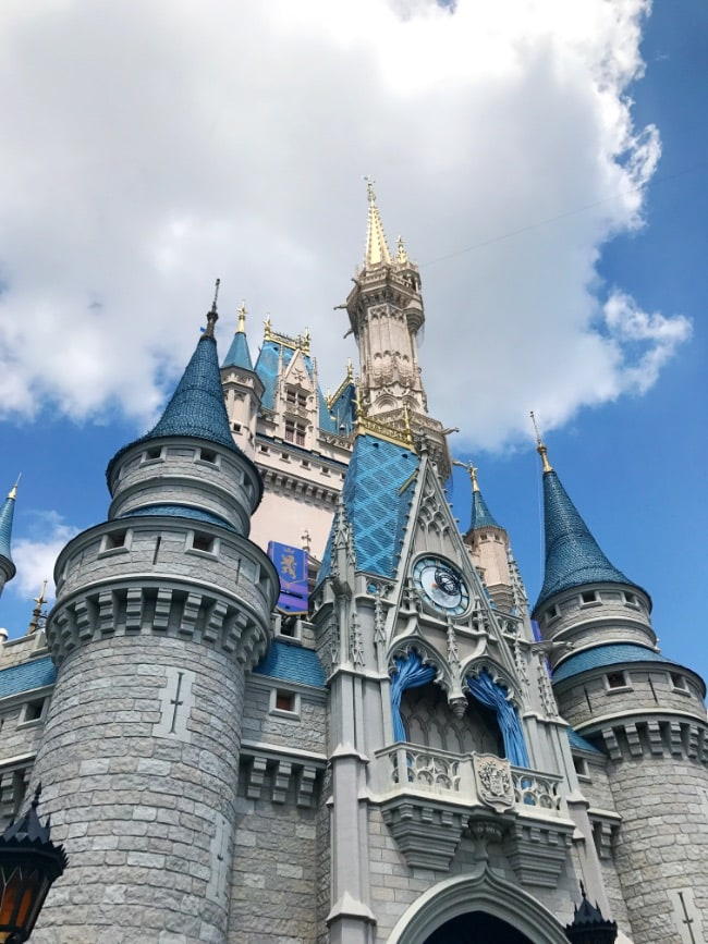 Walt Disney World trip Magic Kingdom Cinderella Castle