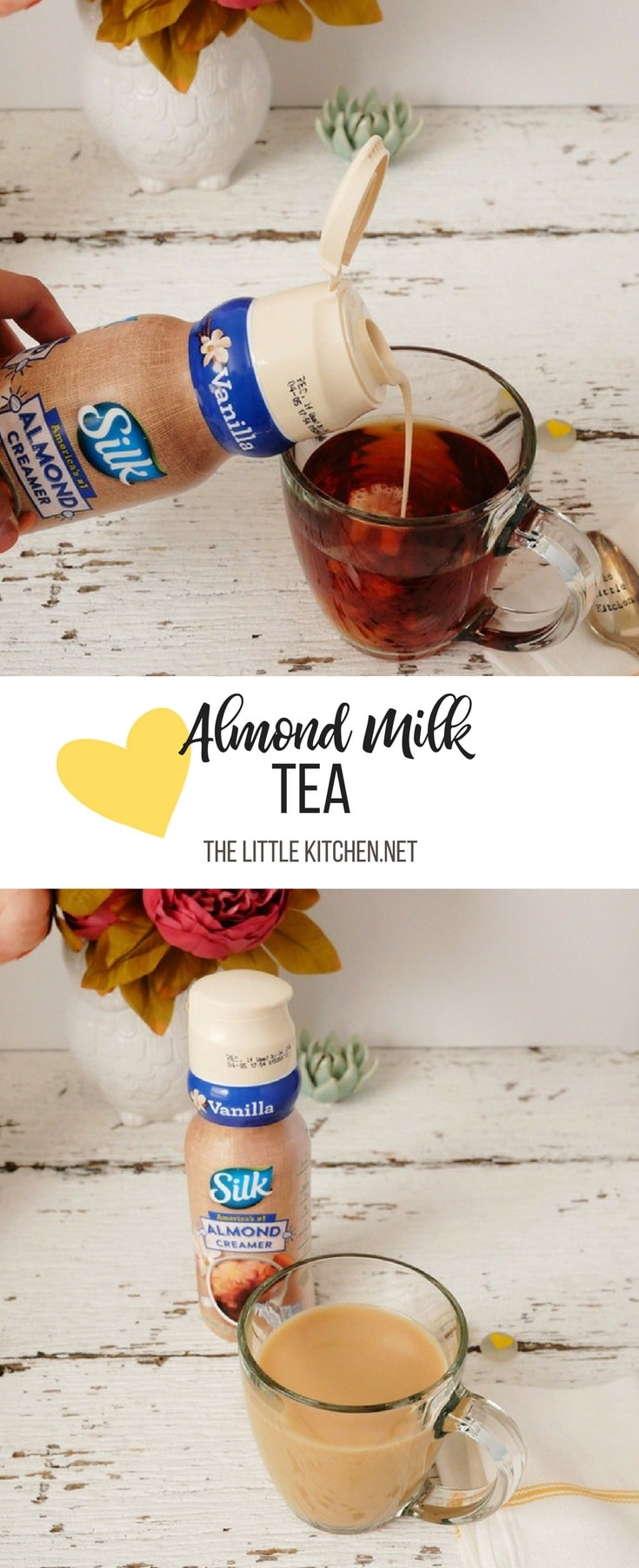 Almond Milk Tea thelittlekitchen.net