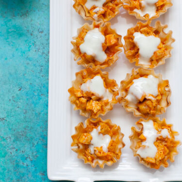 Buffalo Chicken Bites from thelittlekitchen.net