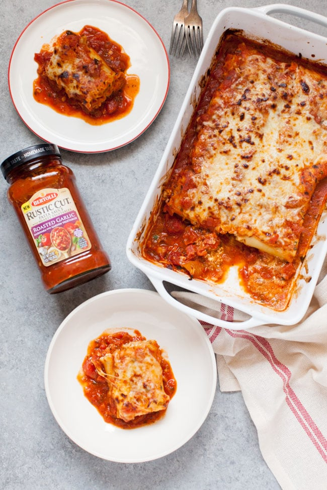 Lasagna Roll Ups from thelittlekitchen.net