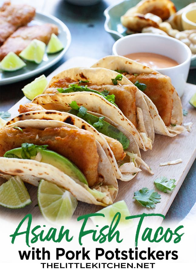 Asian Tacos with Fish and Cabbage