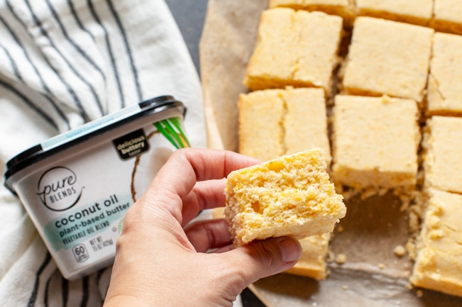 Vegan Cornbread from thelittlekitchen.net