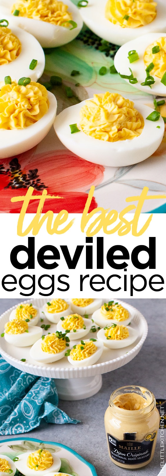 Deviled Eggs Recipe from thelittlekitchen.net