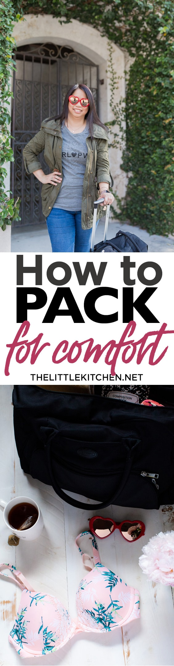 How to Pack for Comfort thelittlekitchen.net