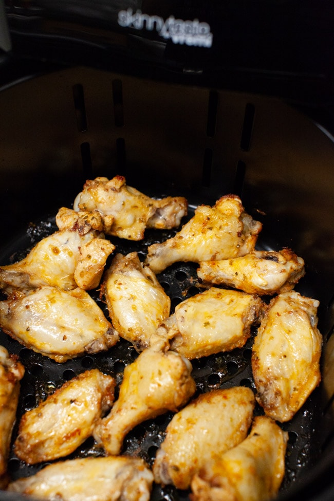 Chicken Wings in Air Fryer from thelittlekitchen.net