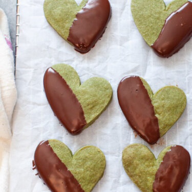 Matcha Cookies from thelittlekitchen.net