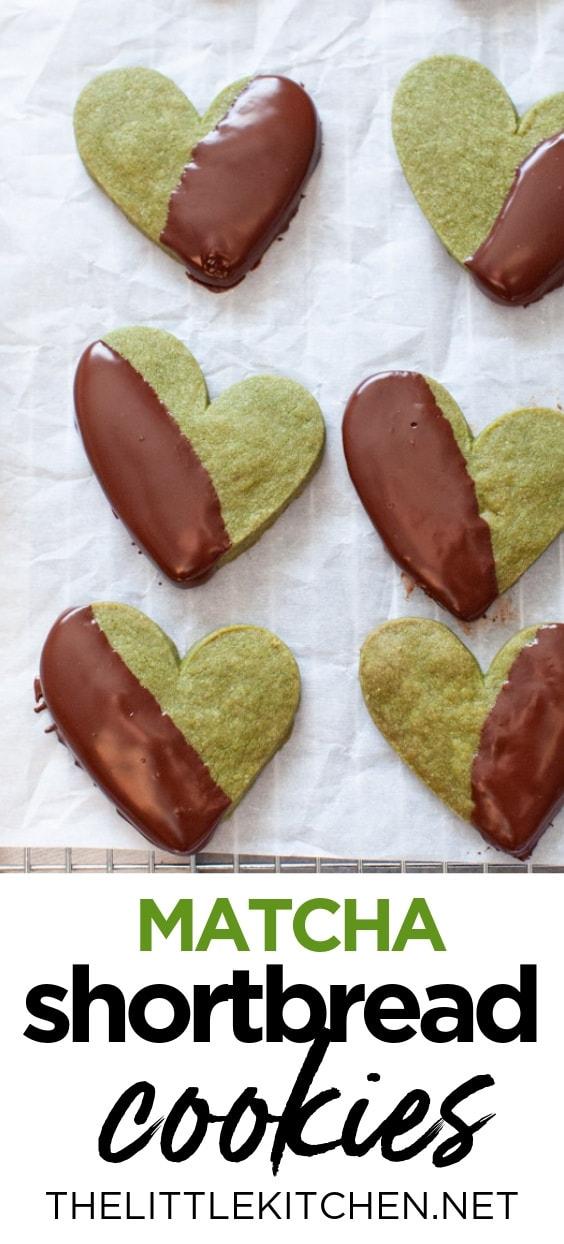 Matcha Cookies from thelittlekitchen.net