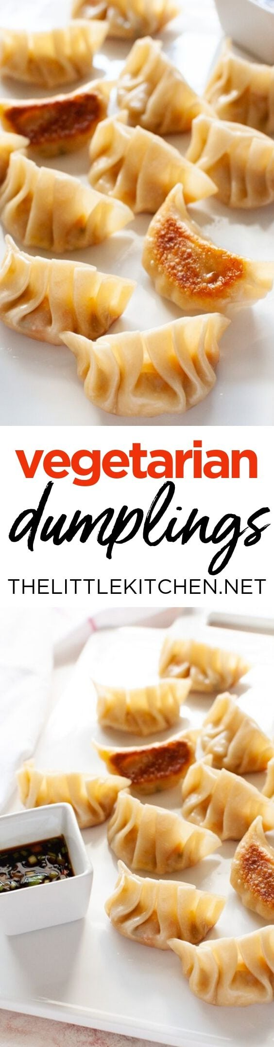 Vegetarian Dumplings from thelittlekitchen.net
