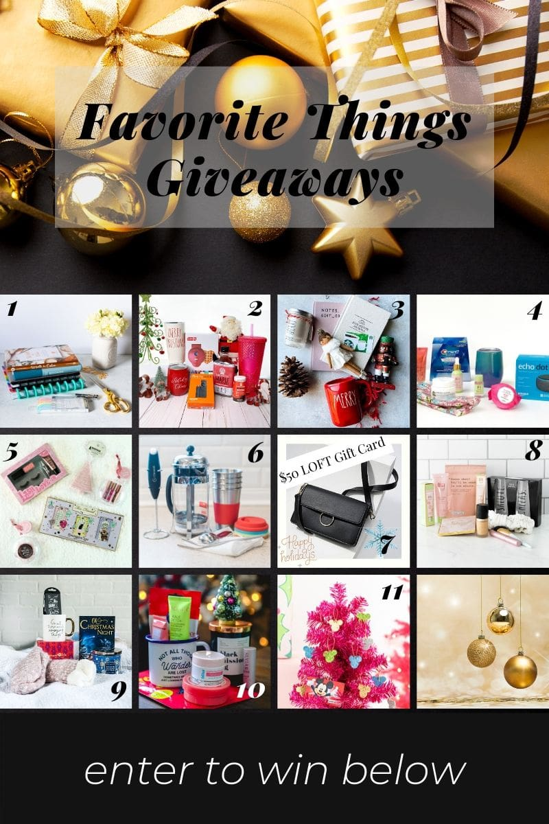 2019 Favorite Things Giveaway from thelittlekitchen.net