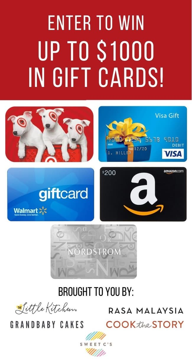 $200 Target Gift Card Giveaway from thelittlekitchen.net