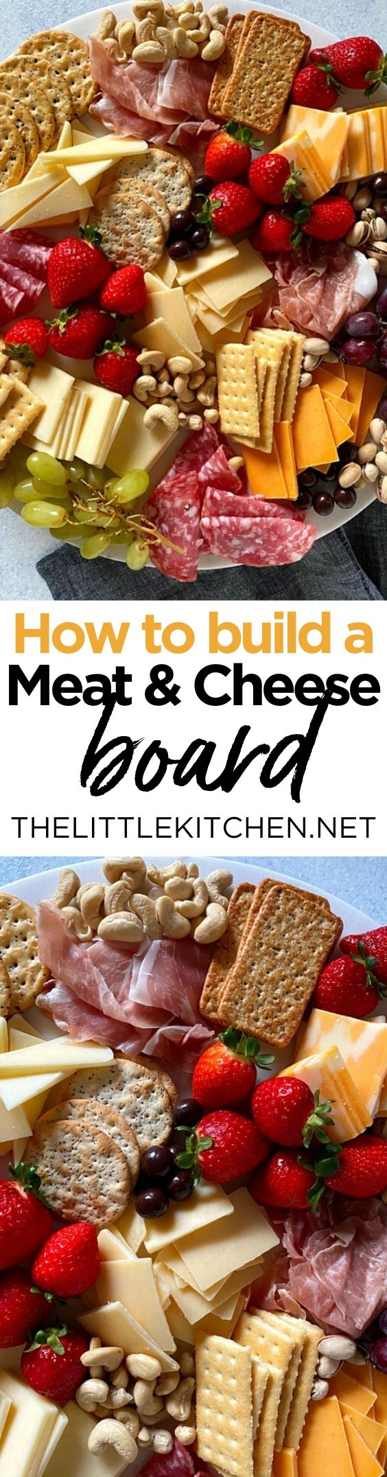 How to Build a Charcuterie Board from thelittlekitchen.net