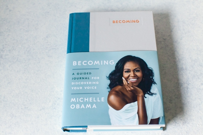 Becoming Journal by Michelle Obama