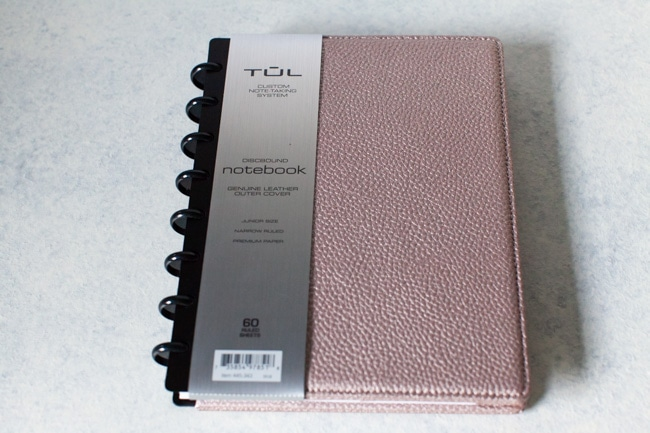 TUL discbound notebook