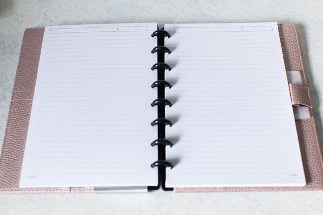 TUL discbound notebook
