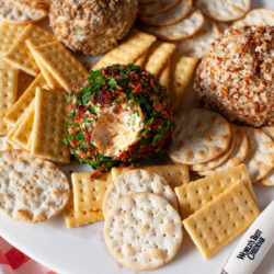 Cheese Ball Recipe from thelittlekitchen.net