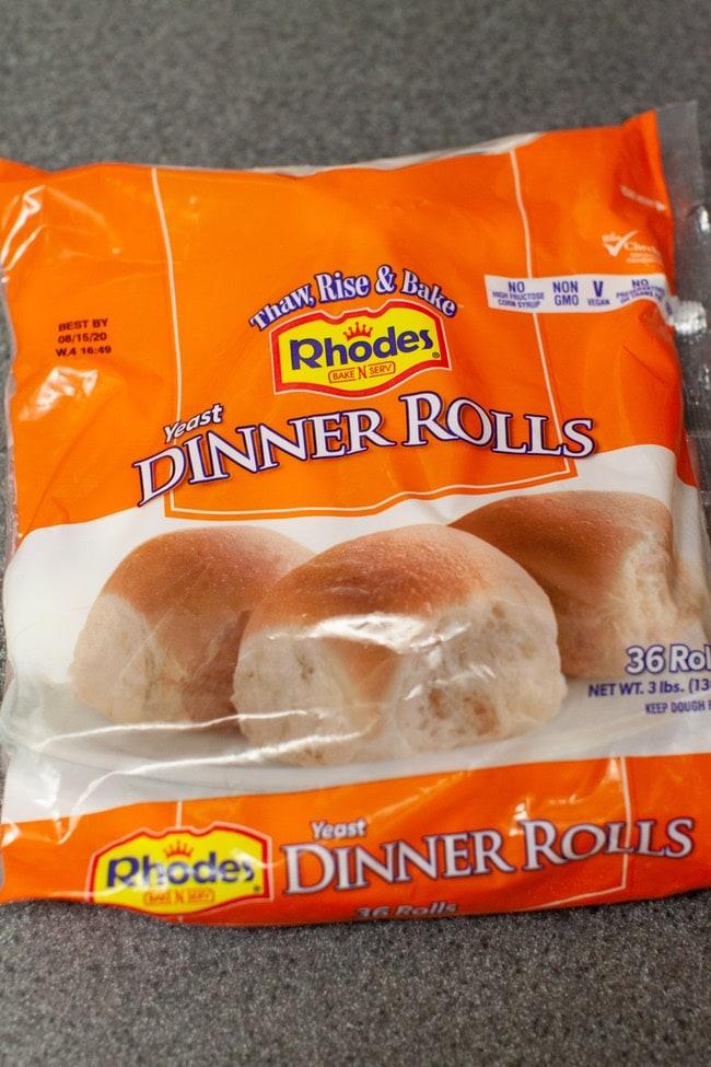 Rhodes Dinner Rolls thelittlekitchen.net