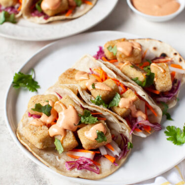 Tofu Tacos Recipe from The Little Kitchen