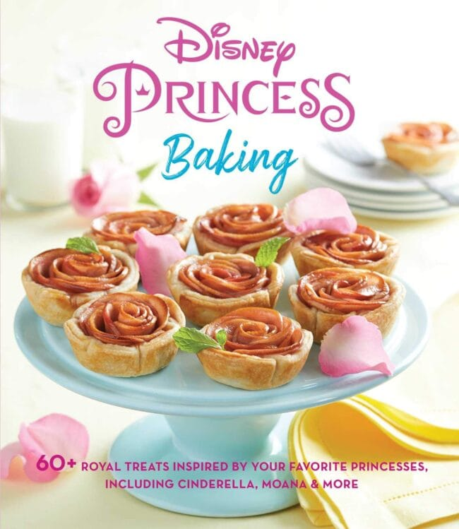 picture of Disney princess baking cookbook